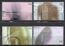 Deutschland Oblitéré 2001 Michel : 2200 - 2201 - 2202 - 2203 - [7] República Federal