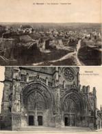 MOREUIL -  Vue Générale - Les Porches De L'Eglise - Moreuil