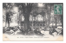 (25169-59) Lille - Square Vauban - Concert Par Le 43ème D'infanterie - Lille