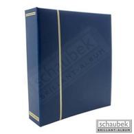 Schaubek Ds1013 Screw Post Binder, Leatherette Blue - Stockbooks