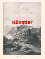 1433 Paul Linke Bethlehem Schäfer Schafe Palästina Druck 1898 !! - Estampes