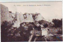 08. GIVET . FORT DE CHARLEMONT . RUINES . LE PONT LEVIS . Editeur L. D. - Givet