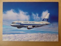 FINNAIR  AIRBUS A 319   AIRLINE ISSUE / CARTE COMPAGNIE - 1946-....: Modern Era