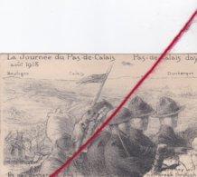 CP 62 - LA JOURNEE DU PAS DE CALAIS  -  AOUT 1918  -   Illustrateur MAYEUR - Guerra 1914-18