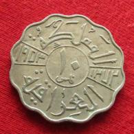 Iraq 10 Fils 1953 KM# 112 Lt 164  Iraque Irak - Iraq