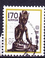 Japan - Der Sitzende Miroku, Bronzestatue (MiNr: 1453) 1981 - Gest Used Obl - Usados
