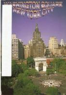 CP Etats-Unis NY 2001 - Washington Square, Geenwich Village, New York City - Greenwich Village