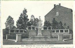 354. Aye - Mémorial Aux Victimes Des Deyx Guerres - Marche-en-Famenne