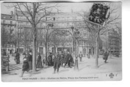 TOUT PARIS Station Du Métro Plca Des Ternes - Arrondissement: 18