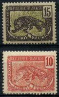 Congo (1900) N 31 à 32 * (charniere) - Neufs