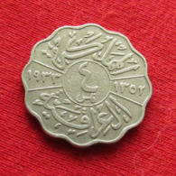 Iraq 4 Fils 1933 KM# 97  Lt 139  Iraque Irak - Iraq