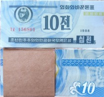 Korea P25 1988 10chon 100pcs UNC - Korea, Noord