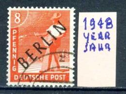 GERMANIA- BERLINO - Jahr 1948 - Usato - Used - Gestempelt - Michel 03 - Berlin (West)