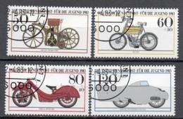 Allemagne R.F.A 1983 Oblitéré Michel : 1168 - 1171 - [7] República Federal