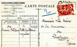 Convoyeur De Ligne Hazebrouck à Arras - 1927 - Marcophilie (Lettres)