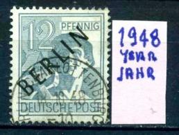 GERMANIA- BERLINO - Jahr 1948 - Usato - Used - Gestempelt - Michel 05 - [5] Berlin