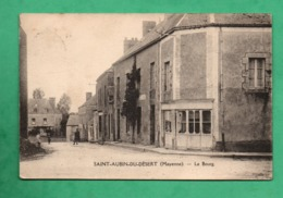 53 Mayenne Saint Aubin Du Desert Le Bourg (leger Pli Dans Un Angle ) - Autres Communes