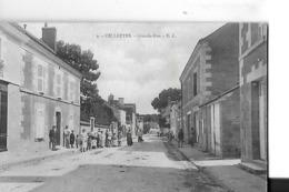 CELLETTES N 9 GRANDE RUE   GROUPE PERSONNAGES   DEPT 41 - Autres Communes