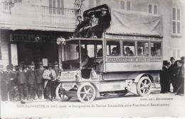 BARCELONNETTE - Inauguration Du Service Automobile - REPRODUCTION - Prix Net ! - Barcelonnette