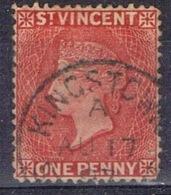 DO 15207 ST-VINCENT GESTEMPELD YVERT NR 1 ZIE SCAN - St.Vincent (...-1979)