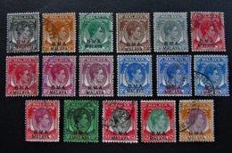 B3203 - Malaya-Singapore BMA - 1945 - S.G. 1-18 - Gran Bretaña (antiguas Colonias Y Protectorados)