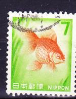 Japan - Goldfisch (Carassius Auratus) (MiNr: 929) 1967 - Gest Used Obl - 1926-89 Emperor Hirohito (Showa Era)