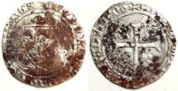 FRANCE - Louis XI [1461-1483] - Blanc à La Couronne - Point 11/12e, Sans Trèfle (Saint-Pourçain) (Dup. 550) - 1461-1483 Louis XI Le Prudent
