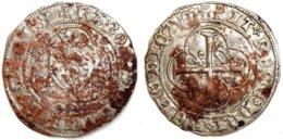 FRANCE - Charles VII [1422-1461] - Blanc à La Couronne - Point 8e (Poitiers) (Dup. 519) - 987-1789 Könige