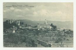 LOANO - PANORAMA - CASTELLO E CHIESA DEL MONTE CARMELO VIAGGIATA  FP - Savona