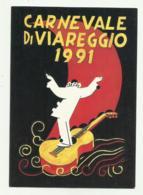 CARNEVALE DI VIAREGGIO 1991   - NV  FG - Viareggio