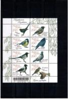 Kazakhstan 2011 . Urban Birds. M/S Of 8v X 250.  Michel # 729-36 KB - Kazakhstan