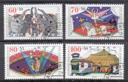 Allemagne  R.F.A 1989 Michel : 1411 - 1414 Oblitéré - [7] República Federal