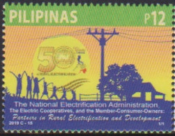 PHILIPPINES, 2019, MNH, ELECTRICITY, ELECTRIFICATION, 1v - Elettricità