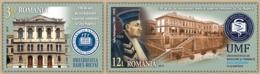 ROMANIA 2019: CLUJ UNIVERSITY 2 Stamps Set - Registered Shipping! Envoi Enregistre! - Scienze