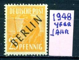 GERMANIA- BERLINO - Jahr 1948 - Nuovo - New - Posfrish - MNH**- Michel 10 - Berlin (West)