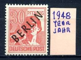 GERMANIA- BERLINO - Jahr 1948 - Nuovo - New - Posfrish - MNH**- Michel 11 - Berlin (West)