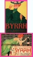 4 Cp Pub BYRRH - Concours D'Affiches - Quinquina - RAPHAEL KIRCHNER - JOANNON - GOSE - CARDONA - Repro - Pubblicitari