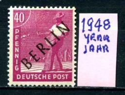 GERMANIA- BERLINO - Jahr 1948 - Nuovo - New - Posfrish - MNH**- Michel 12 - Berlin (West)