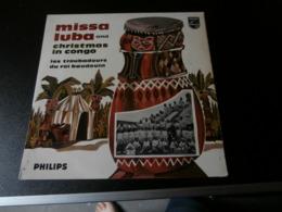 LP Missa Luba And Christmas In Congo (Les Troubadours Du Roi Baudouin) G Haazen - Canciones Religiosas Y  Gospels