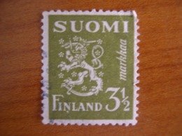 Finlande  Obl N° 259 - Finland