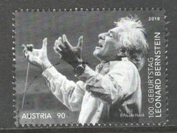 Oostenrijk, Mi 3418  Jaar 2018,  Gestempeld - 1945-.... 2ème République