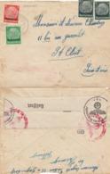 BRIEF. 8 12 41. LOTHRINGEN. HEMINGEN TO ST CLOUD ZENSUR  / 2 - Germany