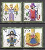 Allemagne R.F.A 1990 Oblitéré Michel 1484 - 1487 - [7] República Federal