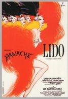 B60103 CPM LEs Grandes Revues Du Lido - Panache 1985 - Cartes Postales