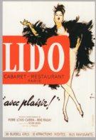 B60106 CPM Les Grandes Revues Du Lido -  Avec Plaisir 1959 - Cartes Postales