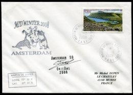 15430 T.A.A.F N°410 ° 0.90€ MID-WINTER 2008 Martin De Viviés-St Paul-Ams.   Du  21.6.2008   TB - Cartas