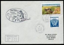 15434 T.A.A.F N°323, 438 ° Nicol Vidot Boucher-Cuisinier. Martin Viviés-St Paul-Ams   Du  28.9.2008   TB - Cartas