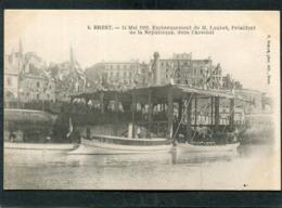 CPA - BREST - 14 Mai 1902 - Embarquement De M. Loubet, Président De La République, Dans L'Arsenal, Très Animé  (dos Non - Brest