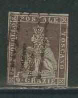 TOSCANE N° 8  Obl. Aminci - Toscane