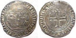 #16_FRANCE MÉDIÉVALE - Charles VIII [1483-1498] - Blanc à La Couronne - Rouen (2,87 G ; Dup. 587) - 987-1789 Könige